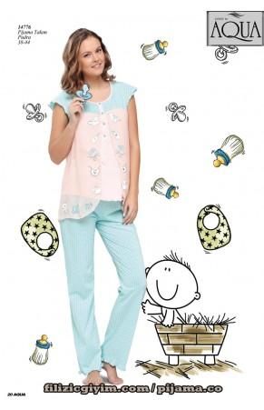 Aqua lohusa pijama takım spor 14776