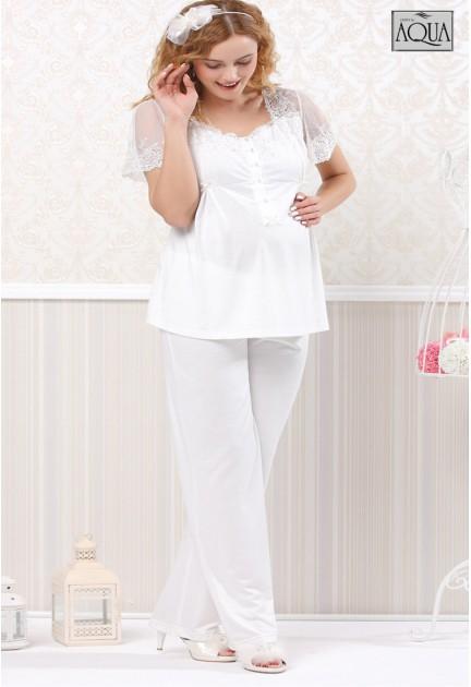 Aqua lohusa dantelli pijama takımı 15741