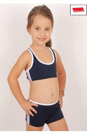 Kom kız çocuk bikini sport
