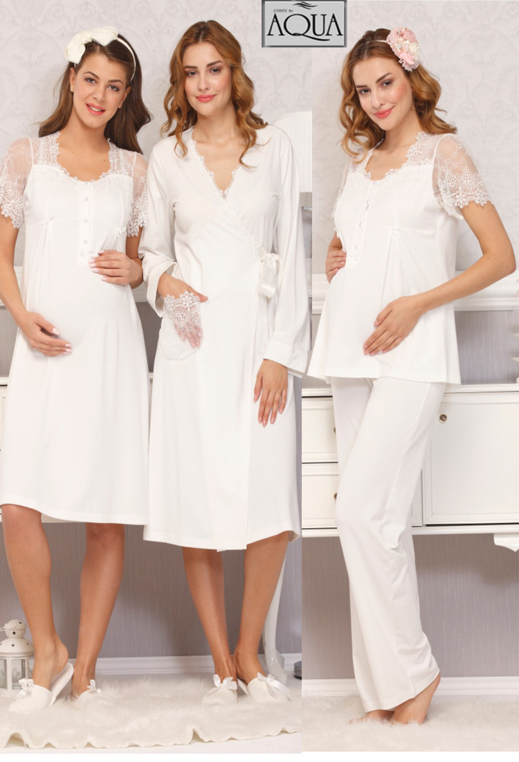 Hamile Pijama Gecelik Modelleri