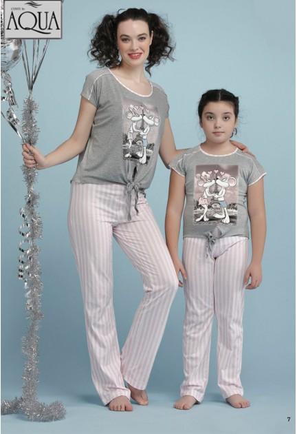 Aqua bayan pijama takımı 17741