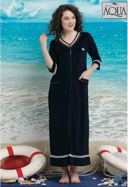 Aqua havlu  plaj elbise 17982