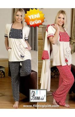 Lohusa pijama- gecelik- set