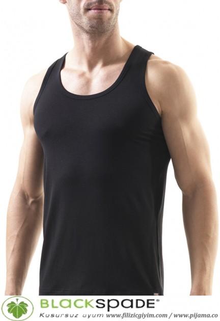 Black Spade erkek sılver modal atlet 9305